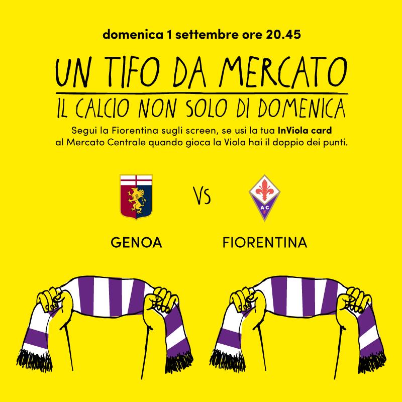 Un tifo da Mercato | Genoa - Fiorentina