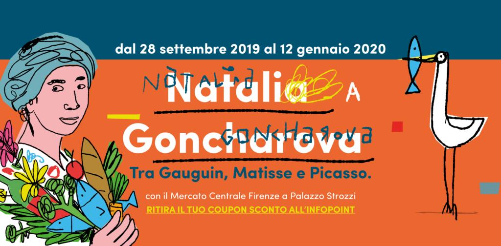 Natalia Goncharova a Palazzo Strozzi, l'arte passa per il Mercato
