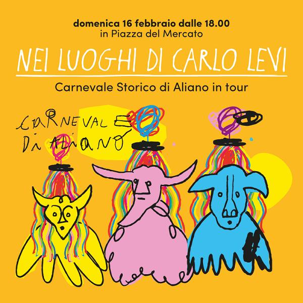 Lo storico Carnevale di Aliano al Mercato Centrale Firenze